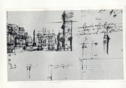 Schizzi di elementi architettonici / Architettura