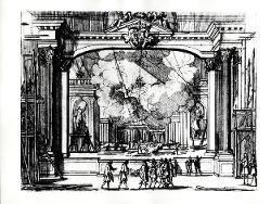 L'Idea di vn Prencipe et Eroe Christiano Boccascena / Illustrazione