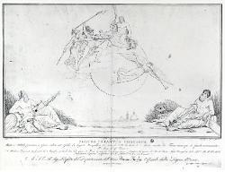 Scena mitologica con Firenze sullo sfondo / Illustrazione