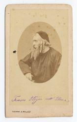 La juive Franz Steger nel ruolo dell'ebreo Eleazaro / Ritratto