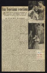 Una Venexiana veneziana  09 agosto 1953
