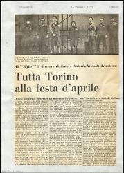 Tutta Torino alla festa d'aprile  : All'