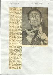 L'arte della commedia  : Un apologo sul teatro 24 gennaio 1965