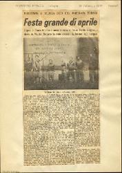 Festa grande di aprile  : Presentata a Bologna dopo una fortunata tournée 21 febbraio 1965
